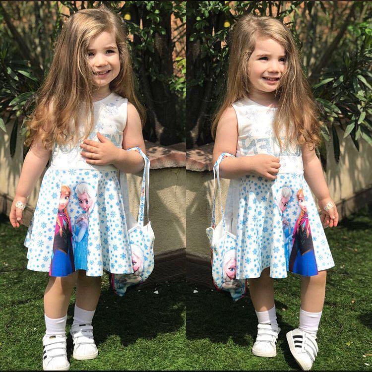 Karlar Kraliçesi Çantalı Elbise