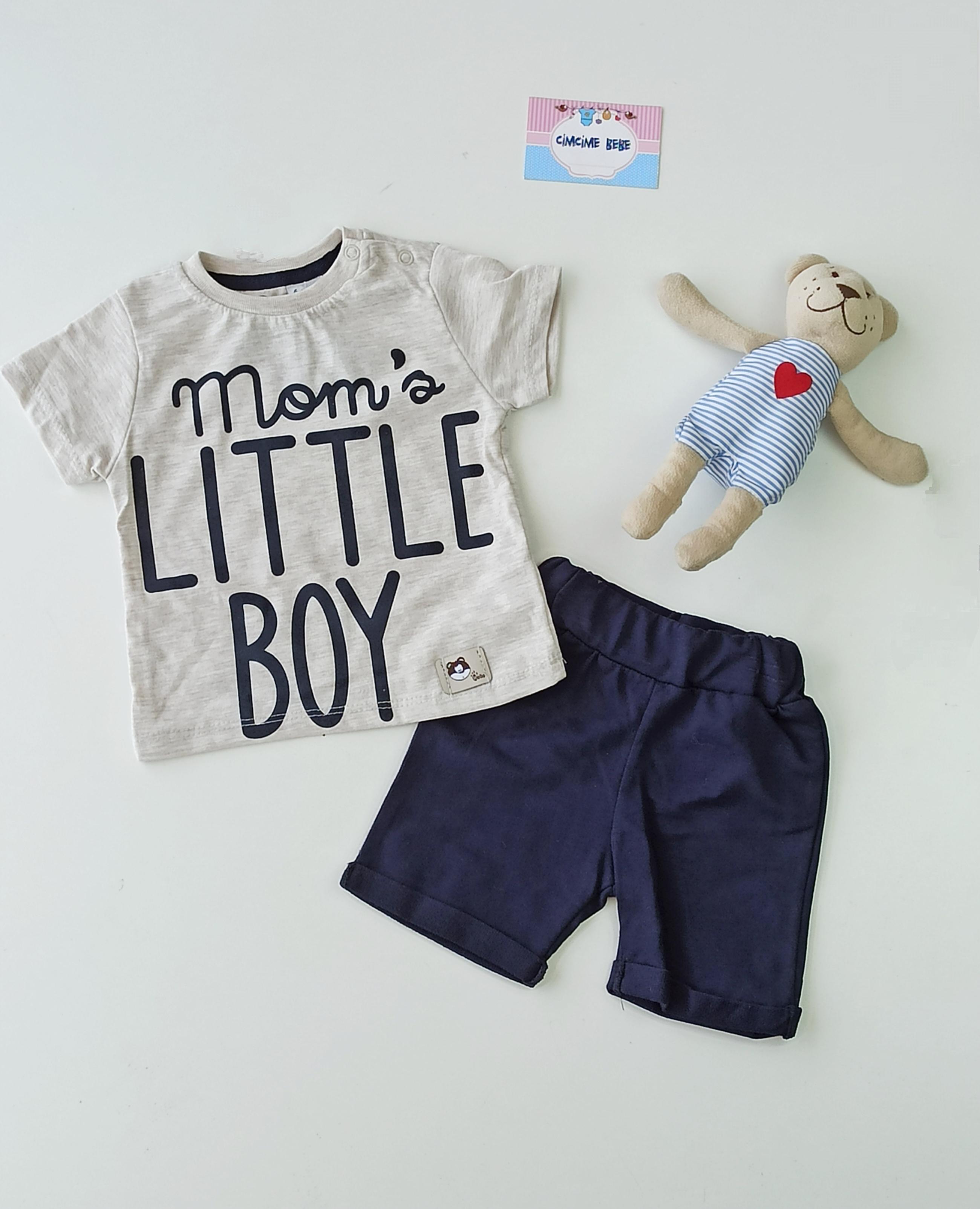 Moms Little Boy Bebek Takım