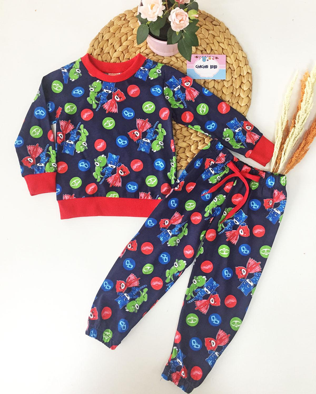 Pija Erkek Çocuk Pijama Takımı