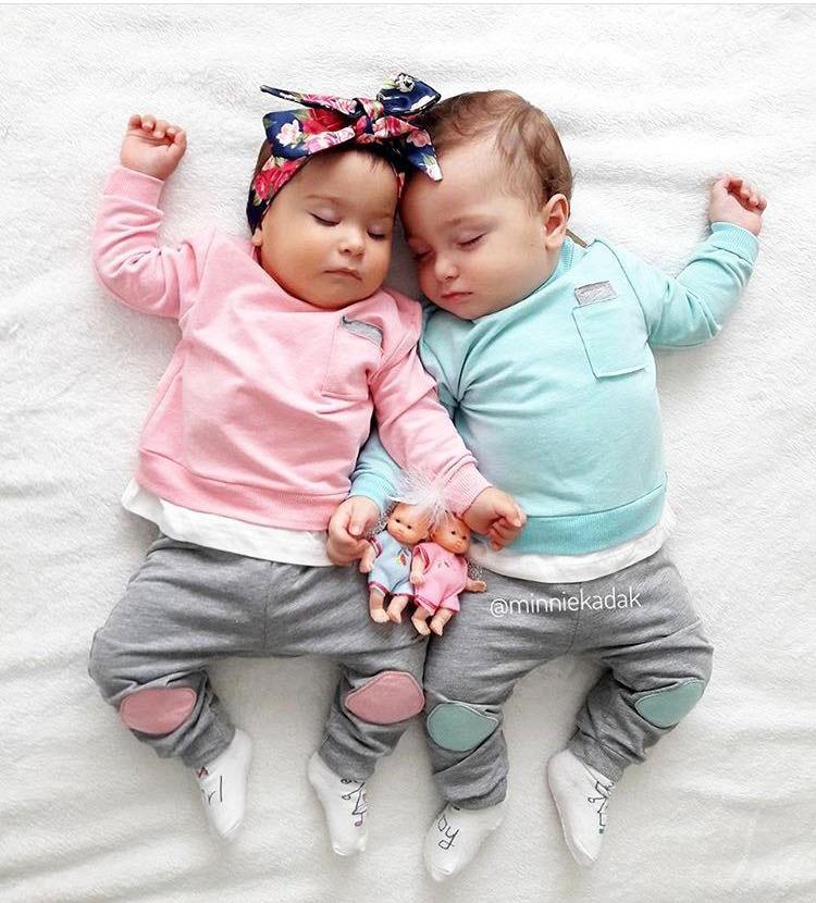 Cep Detaylı Tarz Bebek Takım