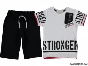 Stronger Erkek Çocuk Şortlu Takım