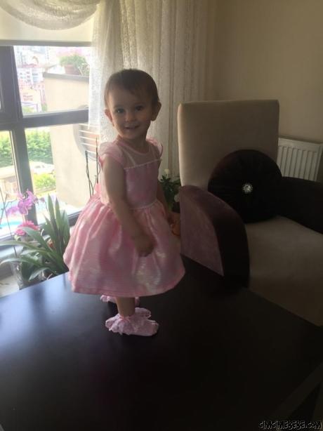 Prenses Kız Çocuk Abiye Elbise