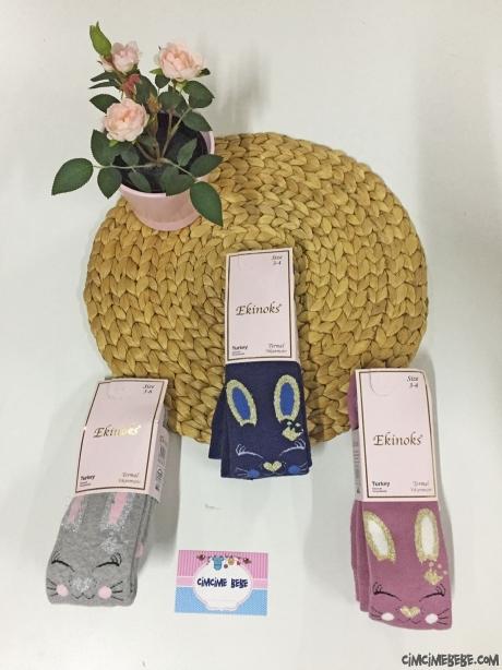 Pisicik Kız Çocuk Havlu Külotlu Çorap