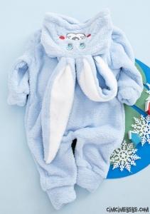 Welsoft Tavşanlı Bebek Tulum