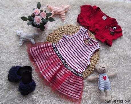 Bolerolu Terlikli Kokoş Kız Elbise
