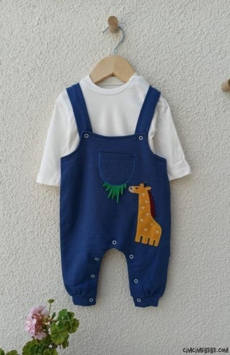 Zürafa Nakışlı Bebek Slopet