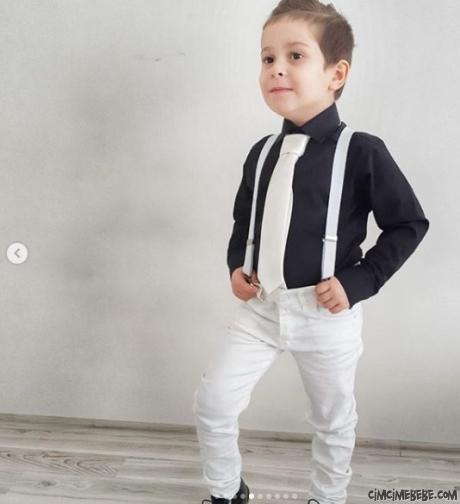 Kravatlı Pantolon Kombin Takım