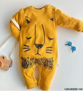 Aslan Figürlü Bebek Tulum