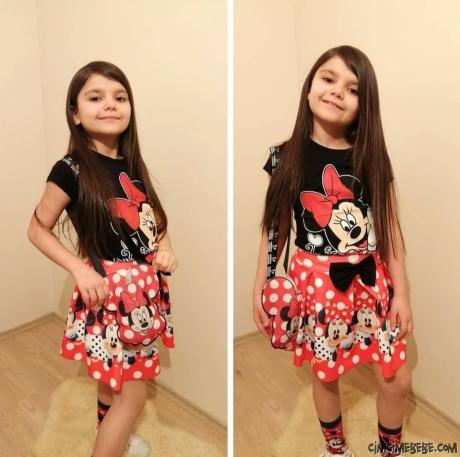 Mini Fare Kız Çocuk Takım