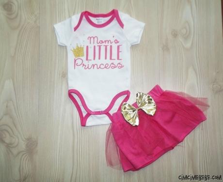 Mom's Little Princess Tütülü Badili Takım