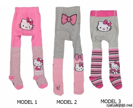 Sevimli Kız Bebek Külotlu Çorap