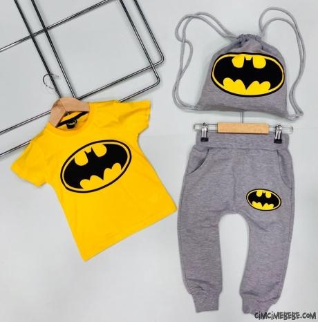 Çantalı Erkek Bebek Eşofman Takımı
