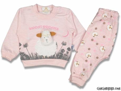 Kuzucuk Kız Bebek Pijama Takım