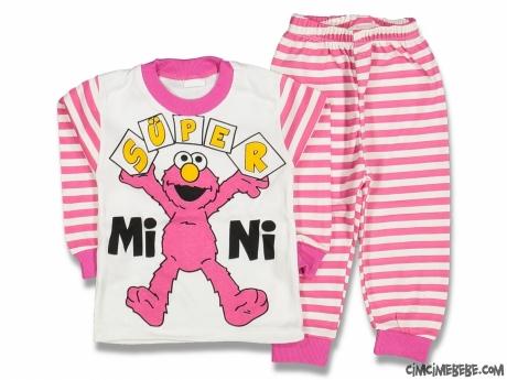 Tatlı Canavar Pijama Takımı