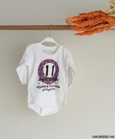 11 Aylık Oldum Bebek Badi