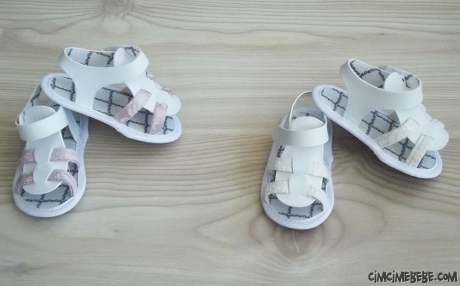 Kız Bebek Şık Sandalet