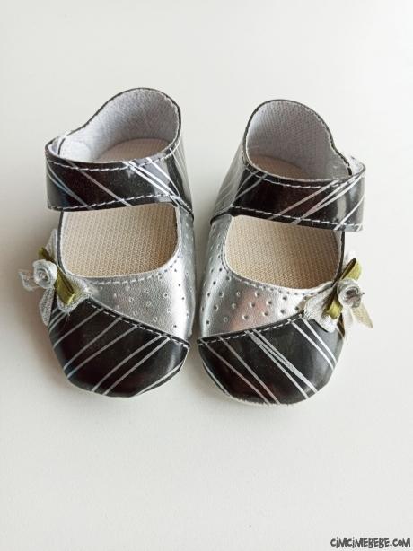 Çizgili Kız Bebek Ayakkabı