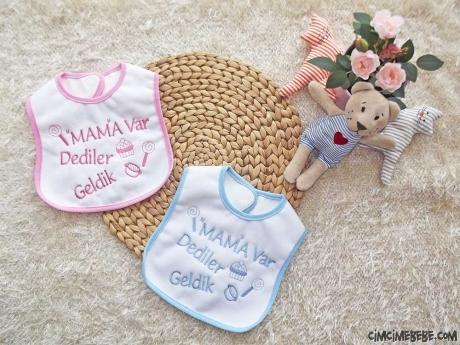 Mama Var Dediler Geldik Yazılı Önlük