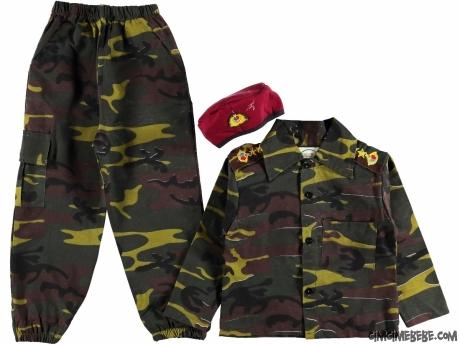 Bordo Bereli Asker Takım