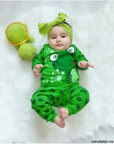 Kurbağacık Pijama Takımı