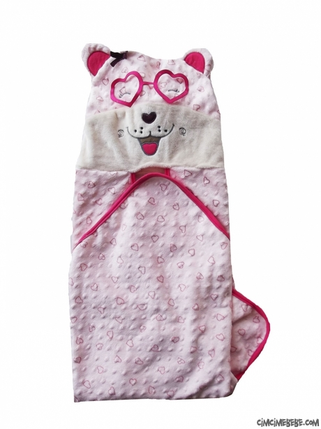Gözlüklü Köpekçik Kundak Battaniye