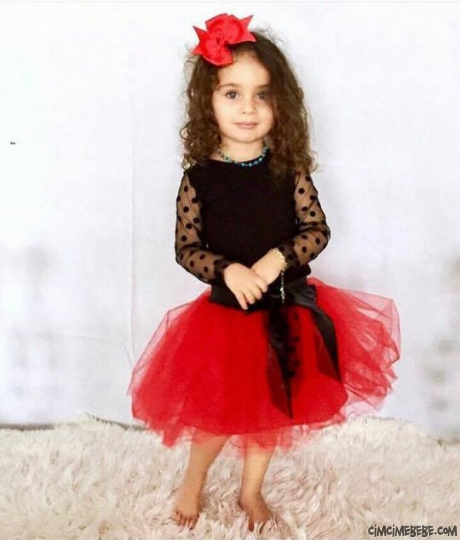 Tütülü Kız Çocuk Kostüm