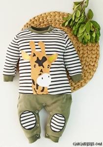 Minik Zürafa Bebek Tulum