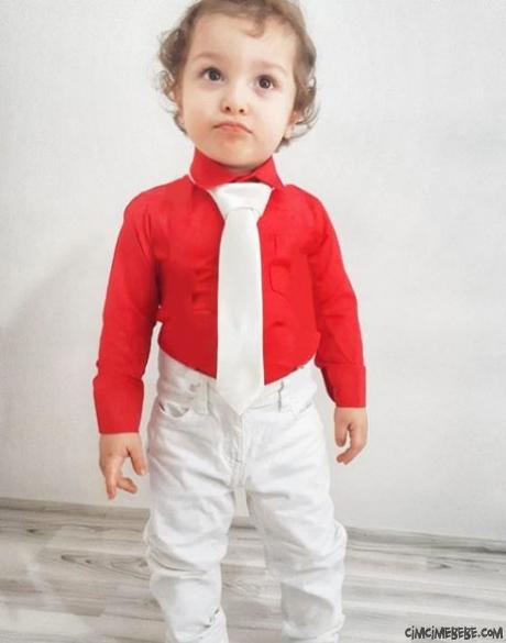 Kravatlı Erkek Çocuk Kombini