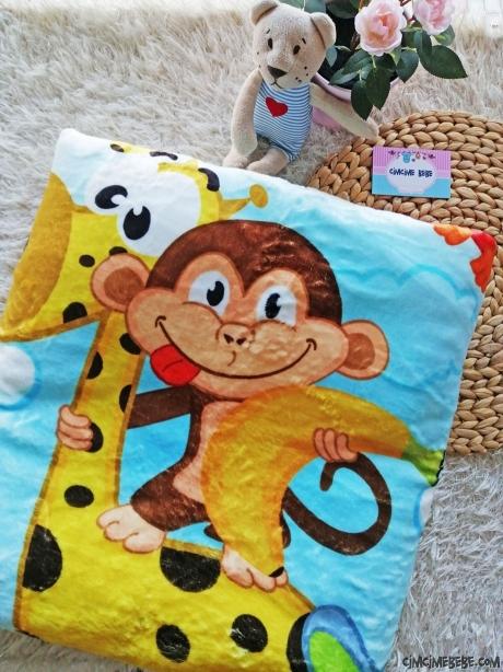 Soft Maymuncuk Bebek Battaniye
