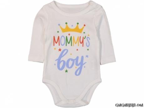 Mommy's Boy Uzun Kollu Bebek Badi
