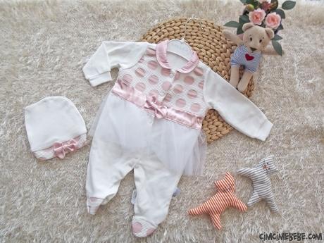 Kız Bebek Tüllü Mevlütlük Tulum