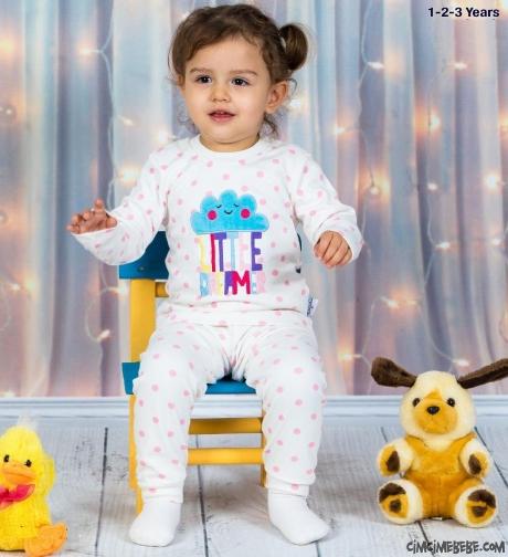 Little Dreamer Kız Çocuk Pijama Takımı