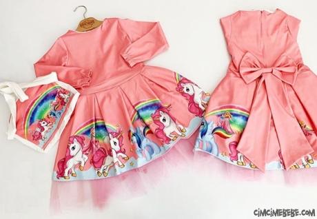 Ponny Kız Çocuk Elbise