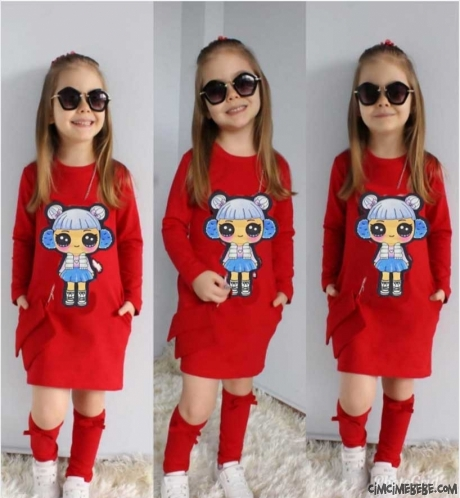 bf949b59e5ace Kız Çocuk Giyim, Kız Elbiseleri   Cimcime Bebe
