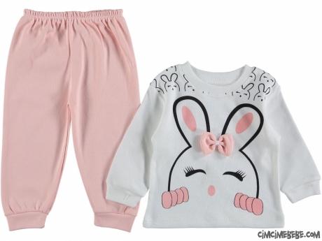 Minik Tavşan Kız Bebek Takım