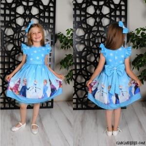 Cute Kız Çocuk Elbise