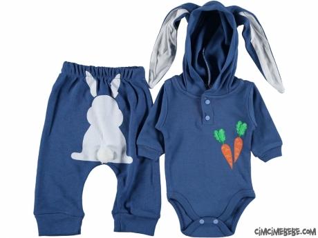 Uzun Kulak Tavşan Bebek Takım