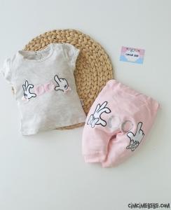 Cool Kız Bebek İkili Takım