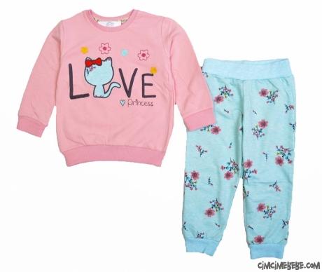 Love 2 İp Kız Çocuk Takım