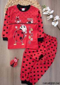 Minik Böcek Pijama Takımı