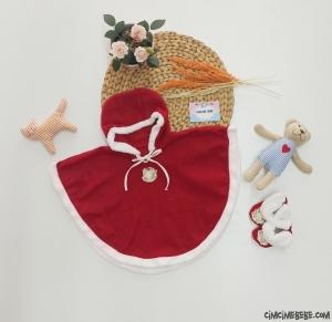 Yeni Yıl Panduflu Bebek Pelerin
