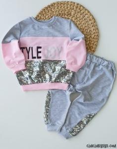 Style Joy Kız Çocuk Eşofman Takım