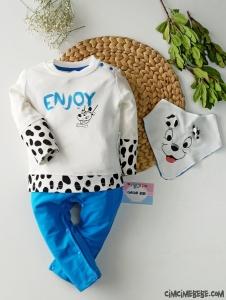 Dalmaçyalı Fularlı Bebek Tulum