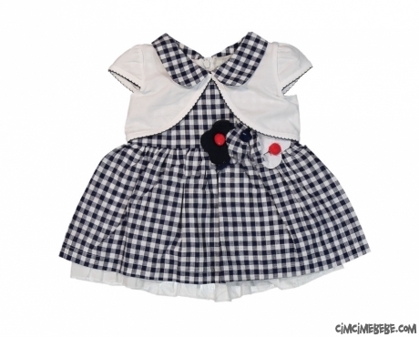 Bolerolu Bebe Yakalı Elbise