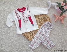 Kravatlı Bebek Takım
