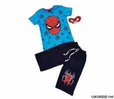 Maskeli Şortlu Süpergüç Takım