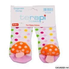 Oyuncaklı Çıngıraklı Bebek Çorap