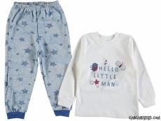 Hello Little Man Erkek Çocuk Pijama Takımı