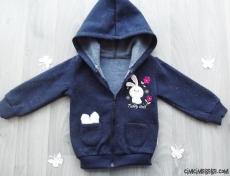 Kız Bebek İçi Polar Hırka