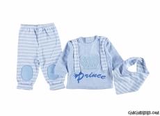 Prens Erkek Bebek Flarlı Takım